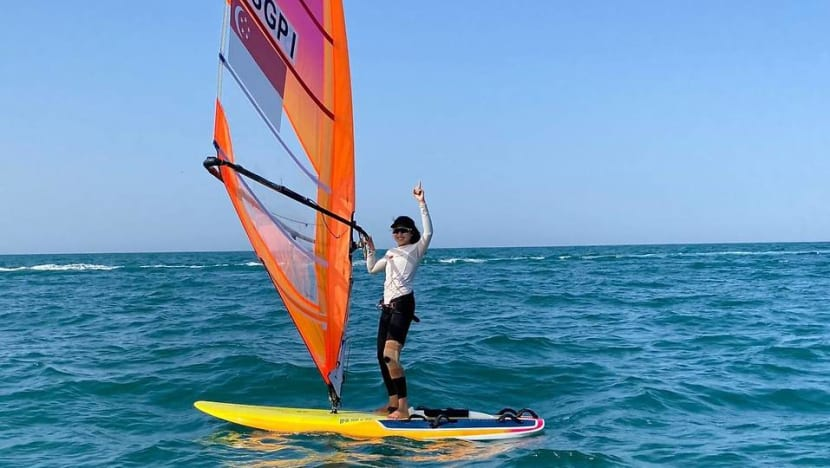 'I couldn't even stand': Singapore windsurfer Amanda Ng overcomes injury to earn spot in Tokyo Olympics