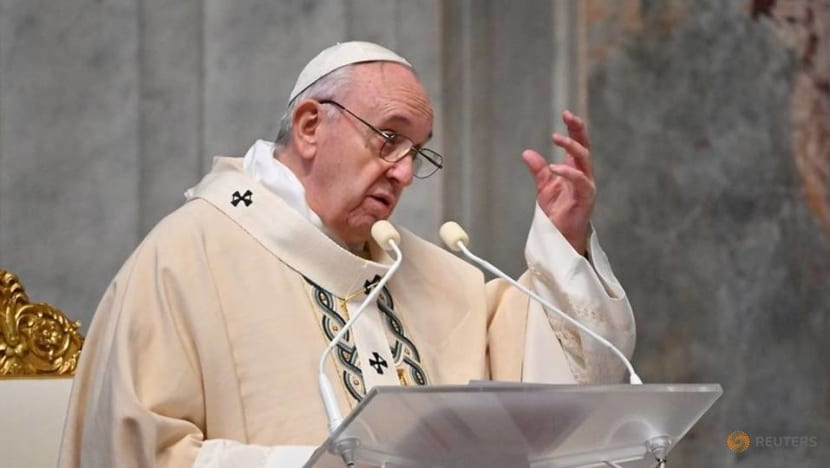 Pope Francis says his brush with death helps him relate to COVID-19 victims