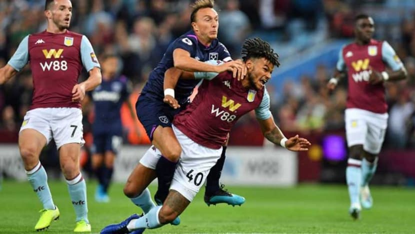 Football: Mings clashes with Villa team-mate El Ghazi in West Ham draw