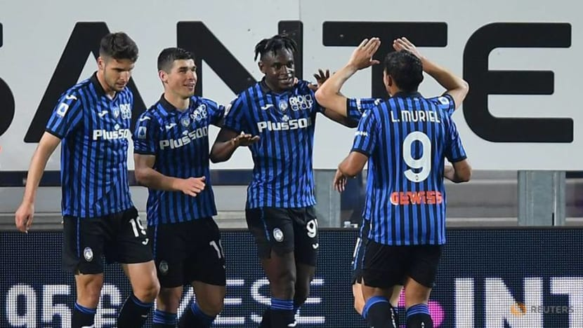 Football: Atalanta put five past 10-man Bologna to go second in Serie A