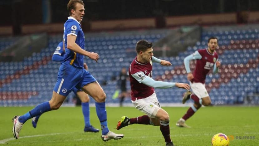 Football: High-flying Brighton held 1-1 at Burnley