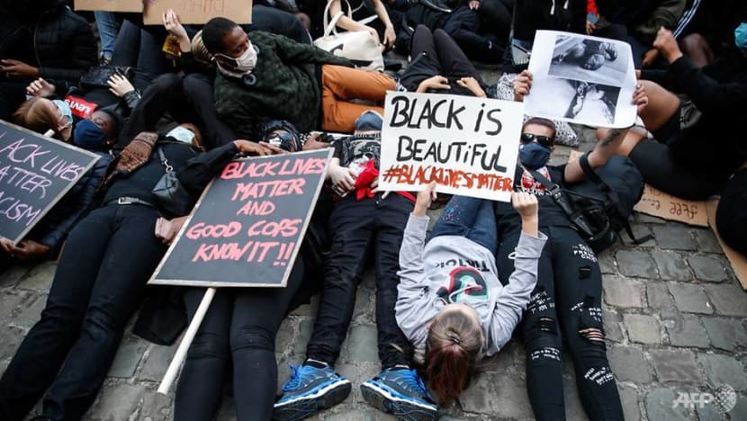 Violence breaks out on sidelines of BLM protest in Belgium