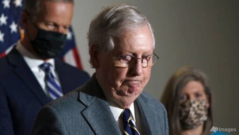US Senate leader McConnell urges new COVID-19 aid in broad funding Bill