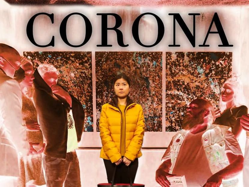 The film touted as the first coronavirus movie takes place in an elevator