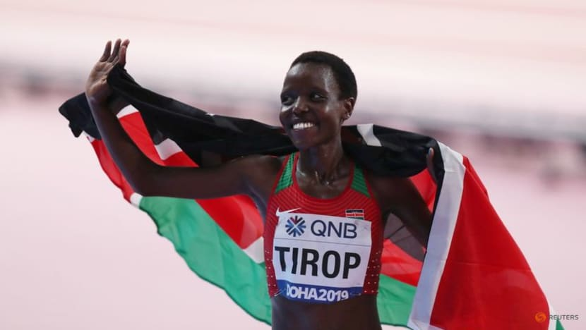 'A great talent': Fellow athletes pay tribute to Kenyan Tirop