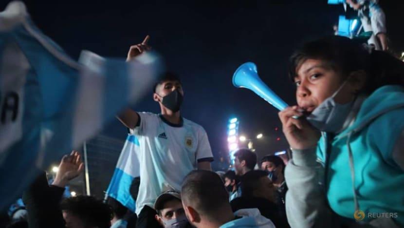 Football: Argentina celebrate Copa win and dream even bigger