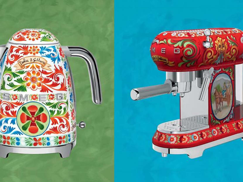 Spruce up your kitchen countertop with Dolce & Gabbana appliances