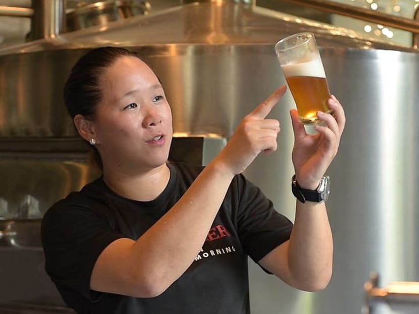 'Are you a beer girl?': Meet Singapore's first and only certified female brewmaster