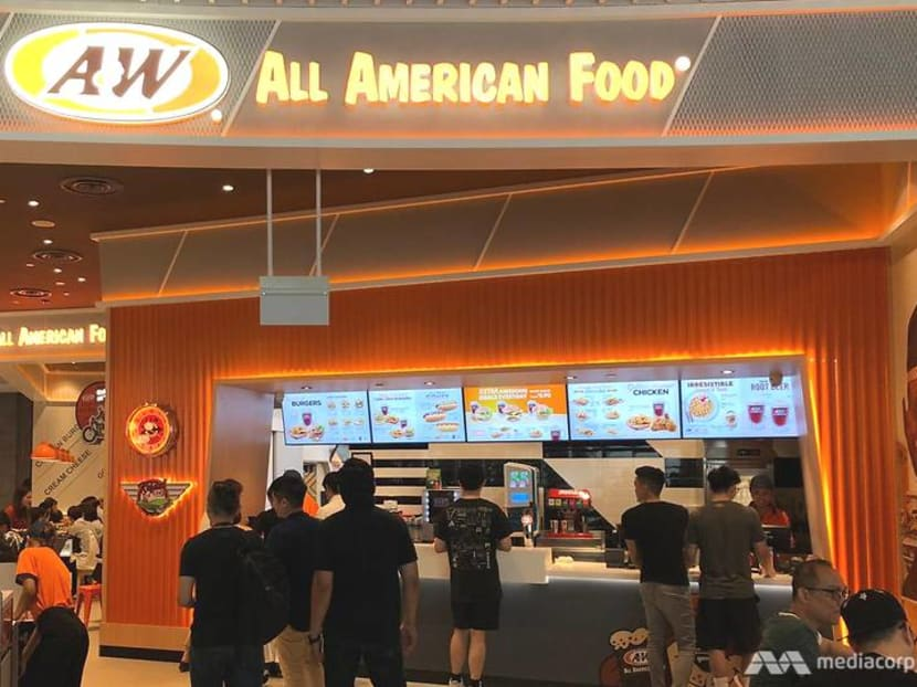 Rooting for you: A&W returns to Singapore after 16 years with Jewel Changi Airport outlet