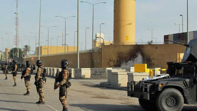 Rocket hits near US embassy in Baghdad: Security sources