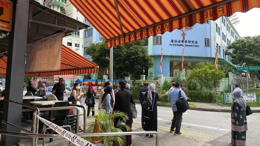 Projectile believed to be war relic found at Geylang Lorong 12