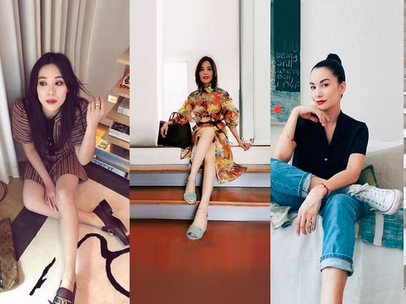 Shopping for shoes? Style cues from Zoe Tay, Rebecca Lim, Jeanette Aw and more