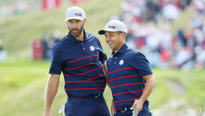 Golf: USA grabs 6-2 lead over Europe after first day of Ryder Cup