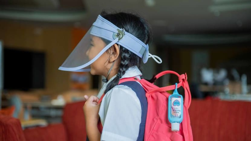 COVID-19: Pre-school and primary school students to get face shields, hand sanitiser