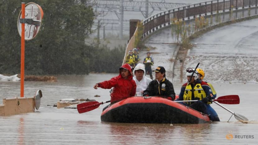 PM Lee offers 'deepest condolences' after Typhoon Hagibis hits Japan, killing nearly 70