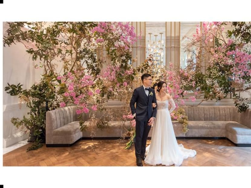 No destination weddings, so Singapore couples get creative amid the pandemic