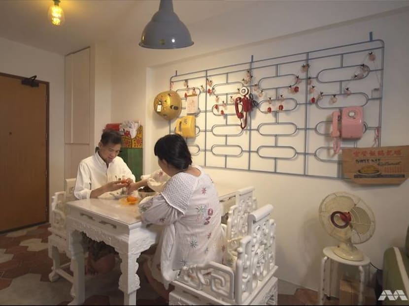 How a nostalgic couple brought 'old Singapore' into their new 700 sq ft BTO flat