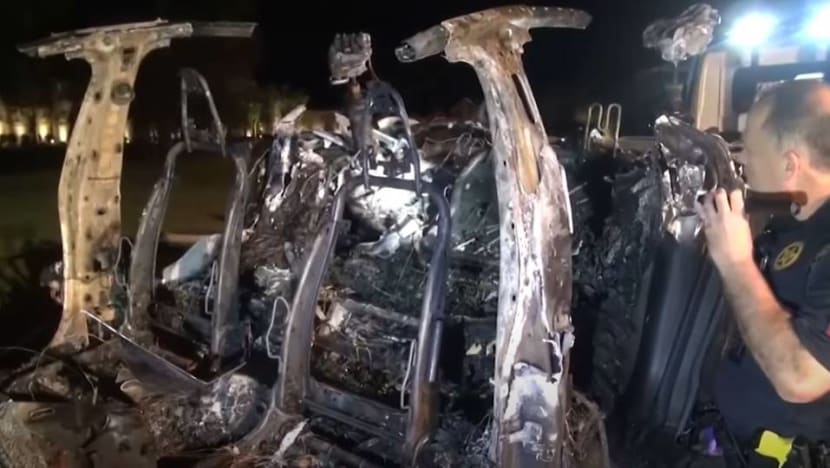 Texas police to demand Tesla crash data as Musk denies Autopilot use