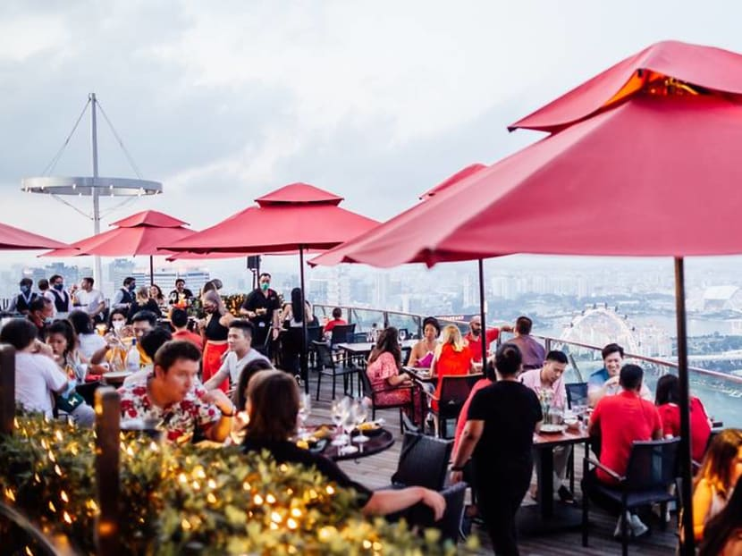 Hawker favourites with a view: Dine on satay, biryani and more at Ce La Vi