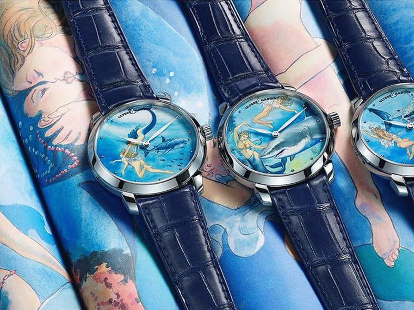 What happens when a watchmaker teams up with a comic book illustrator