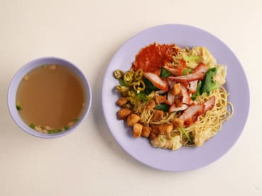 Best eats: Possibly the spiciest wanton mee in Singapore