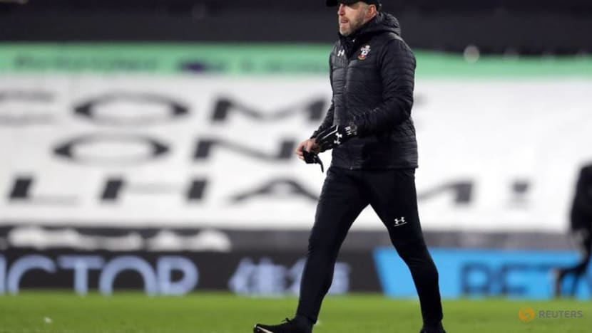Soccer-Saints' Hasenhuettl self-isolating, to work from home for West Ham game