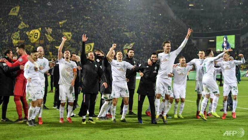 Football: Dortmund crash out of German Cup on penalties to Bremen