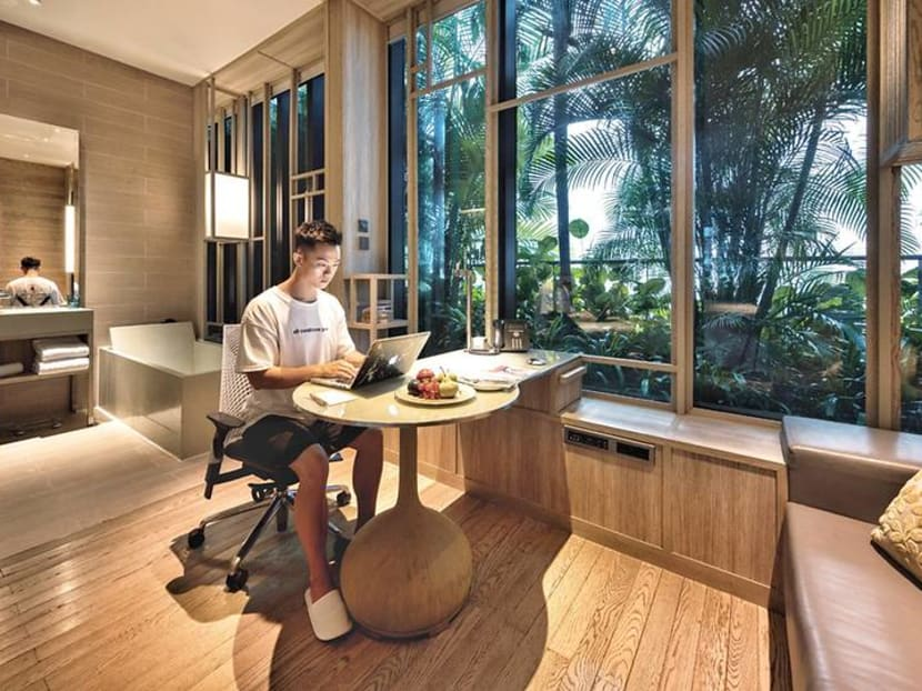 Need a change in scenery? Swap your home office for a hotel room instead