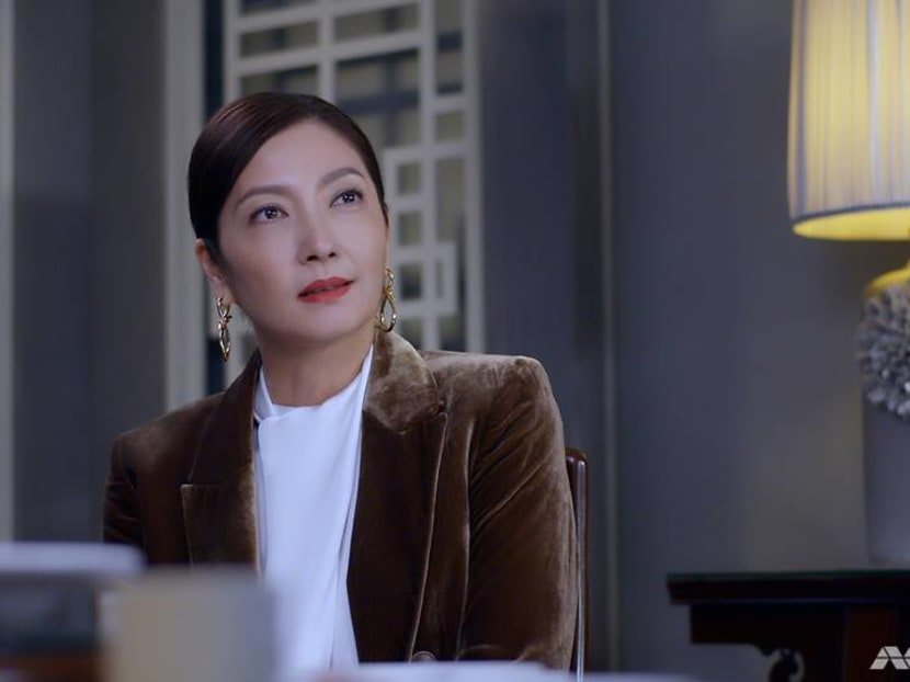 Actress Huang Biren returns to television after a four-year hiatus to play a baddie
