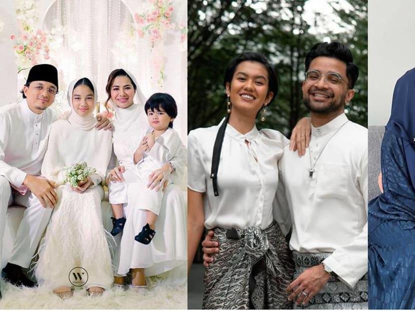 Malaysia's celebrity newlyweds celebrate Hari Raya amid a third lockdown