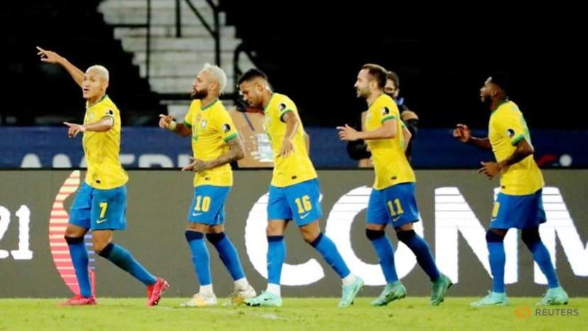 Football: Neymar scores again at Copa America to edge closer to Pele's Brazil record