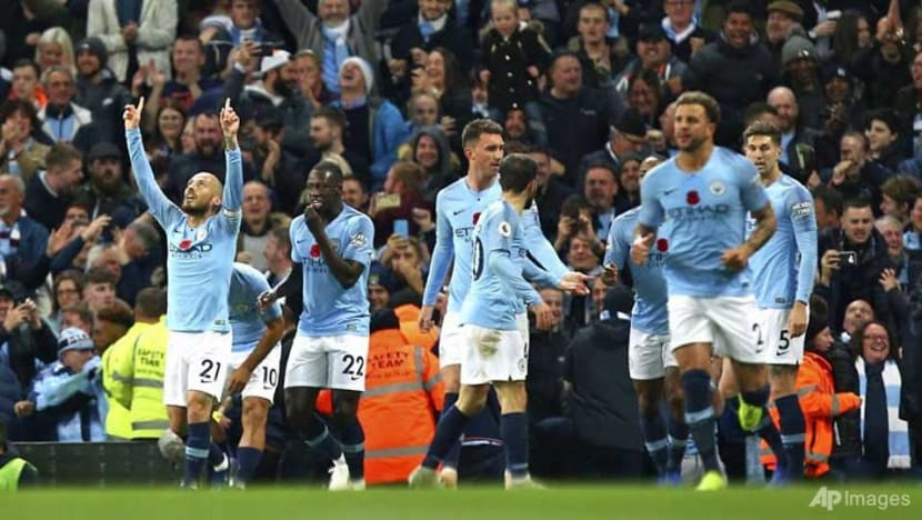 Football: Man City outclass Man Utd in derby to move top of Premier League