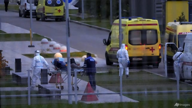 Russia reports record COVID-19 deaths and cases