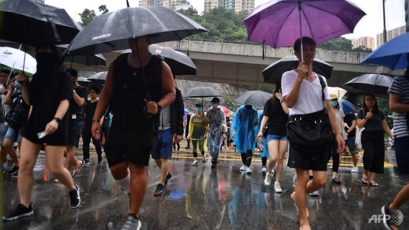 Weekend mass rally in Hong Kong 'cancelled' following police ban