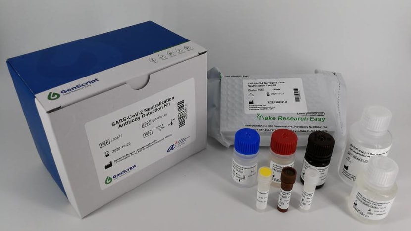 New COVID-19 test developed in Singapore detects past infection within an hour