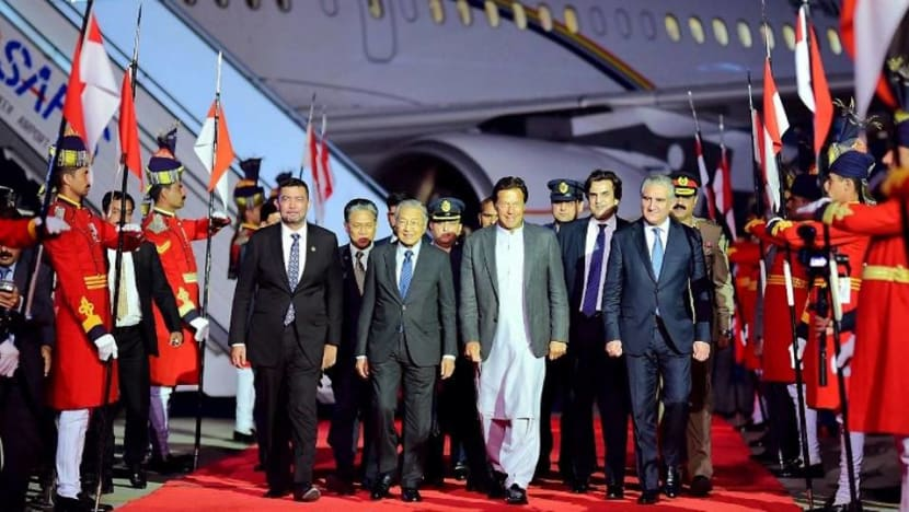 Malaysian PM Mahathir in Pakistan for 3-day visit
