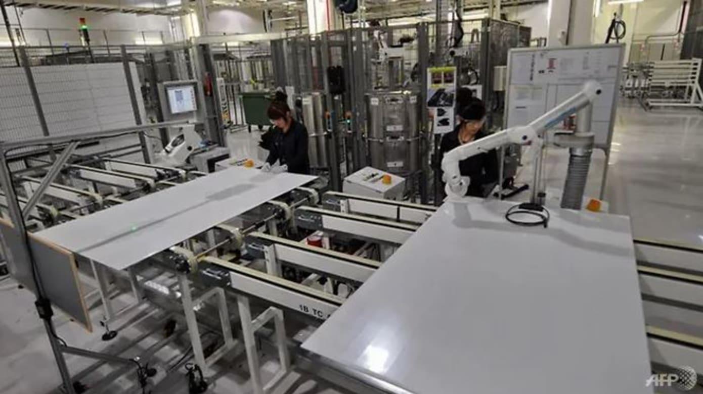 我国制造业产值近一年来首次出现萎缩