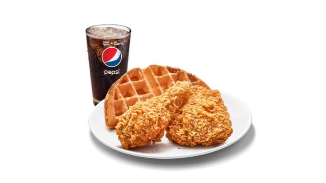 Chicken 'N Waffles 快餐店也能吃得到!
