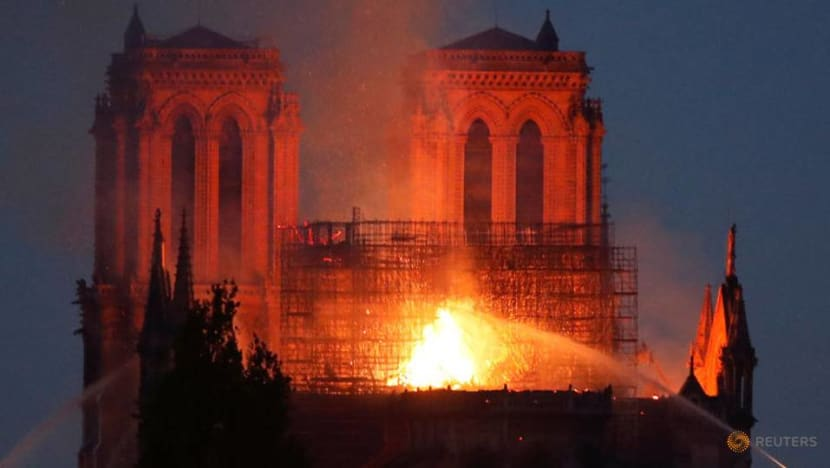 Notre-Dame 'part of heritage of mankind': PM Lee after fire devastates iconic cathedral