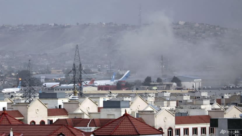 Two explosions at Kabul airport in 'terrorist attack'; dozens killed