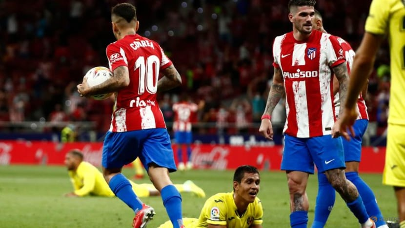 Football: Atletico avoid defeat by Villarreal with last-gasp own goal