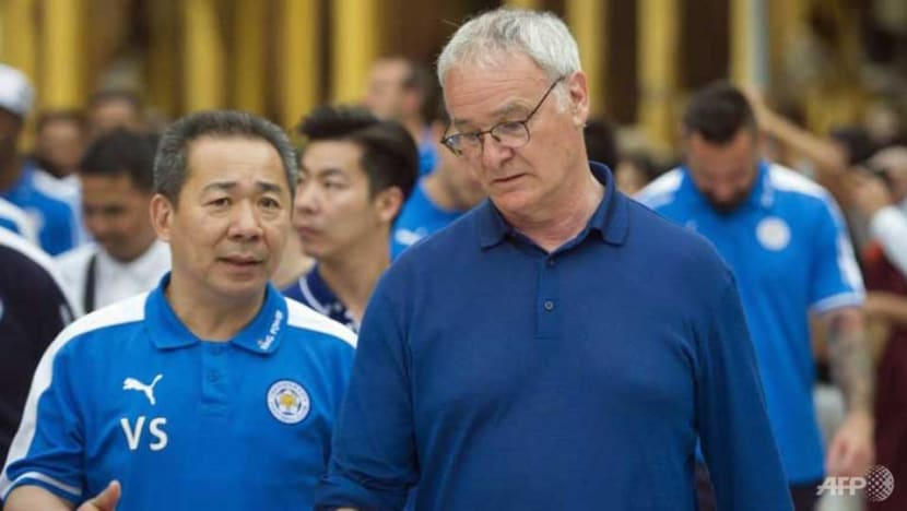 Football: Ranieri 'shaken' by death of Leicester's Thai boss