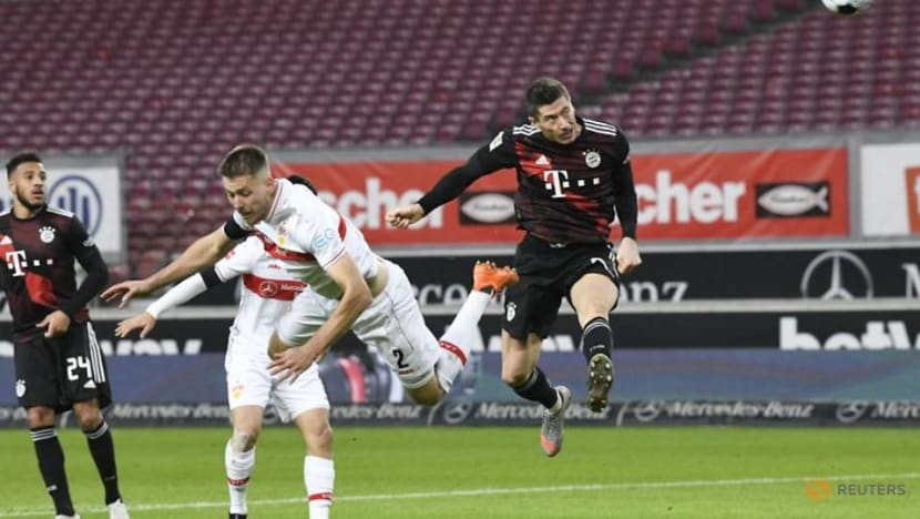 Football: Bayern made to sweat for 3-1 win at Stuttgart