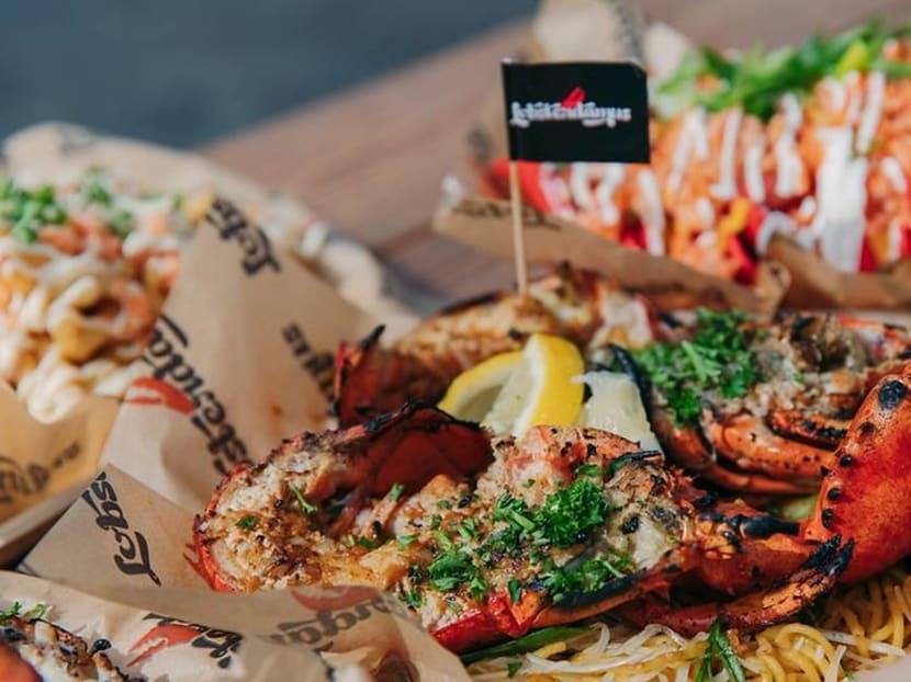 Lobster with top wines? LA's Lobsterdamus makes Singapore debut at RWS food fest