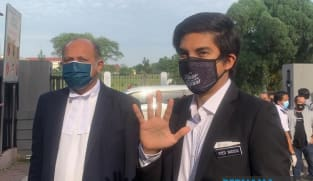 Malaysia's former minister Syed Saddiq claims trial to two charges of money laundering involving RM100,000