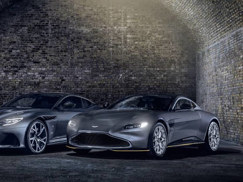 Drive like James Bond: Aston Martin unveils two limited-edition 007 cars
