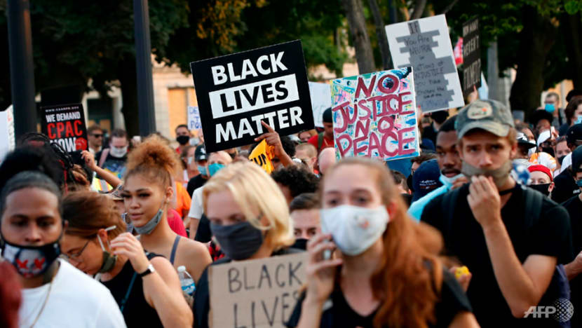 US protesters, police face off after black man shot in back