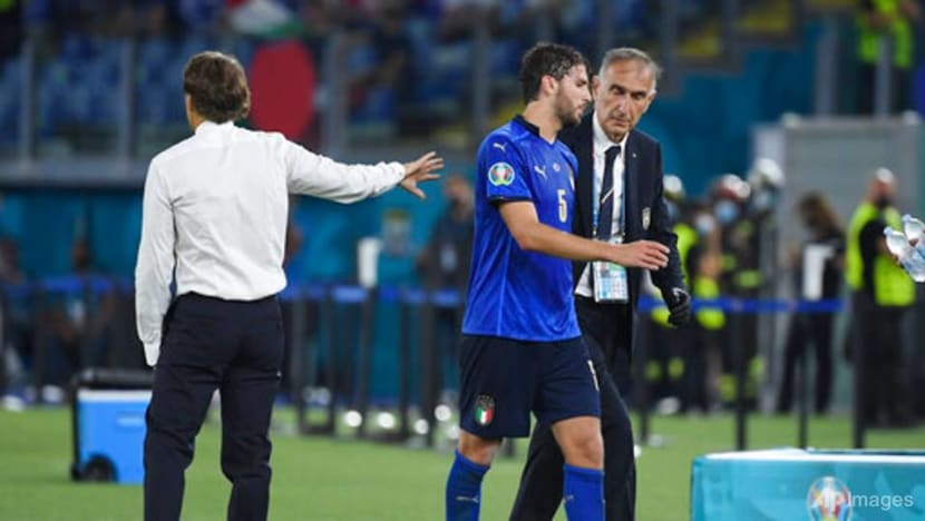 Football: Improving Italy not a frontrunner in Euro 2020 race, says Mancini