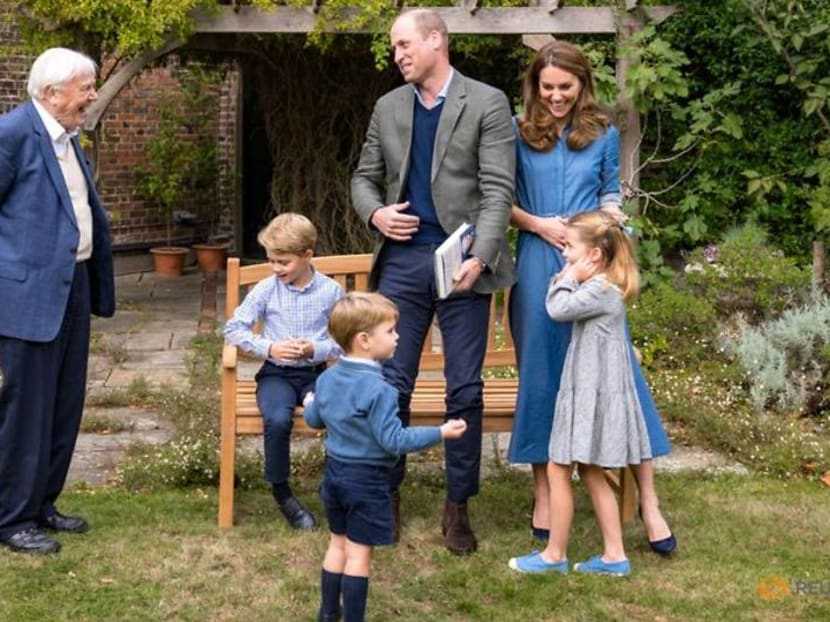 Prince George and siblings quiz David Attenborough on his favourite animal