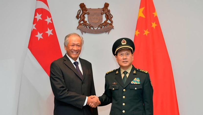 China doesn't want confrontation with US in South China Sea: Ng Eng Hen
